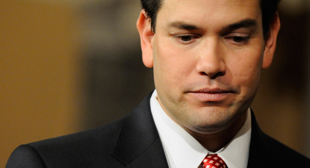 Rubio Florida Sen. Marco Rubio Wimps Out When Asked About Rush Limbaughs Recent Diatribe