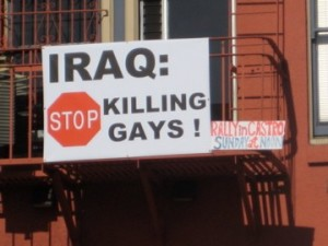 iraq stopkillinggays 300x225 Horrifying Wave of Brutal Anti Gay Murders in Iraq