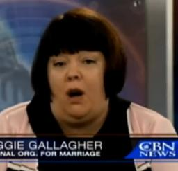 maggie gallagher nom1 Fred Karger Op Ed: Maggie Gallagher Bites the Hand that Feeds Her