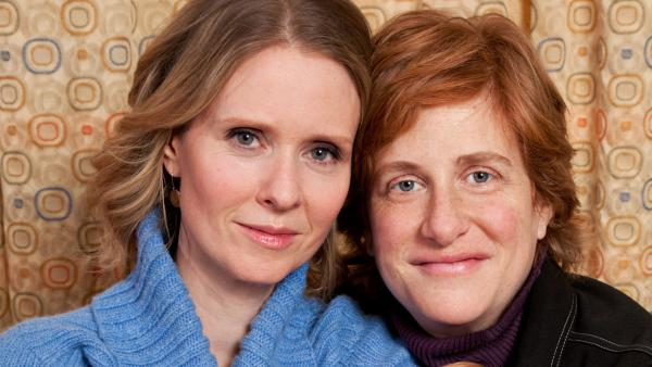 Nixon Cynthia Nixon Marries Fiance Christine Marinoni
