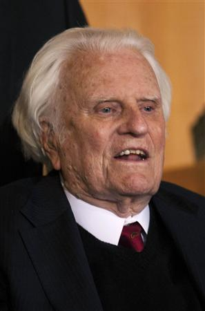 billy graham Billy Graham Endorses North Carolina Marriage Discrimination Amendment
