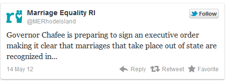 ri Rhode Island Will Recognize Out of State Same Sex Marriages