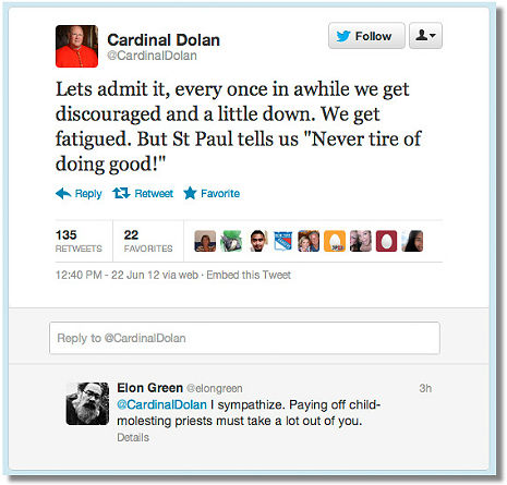 cardinal And Then Somebody Smacked Cardinal Dolan Down On Twitter
