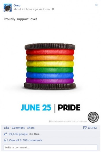 oreo gayness In Act Of Flagrant Hatred, Oreo Cookies Taunt Wingnut Mommies and Daddies