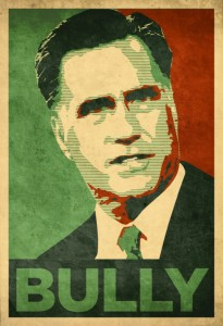 romney bully 205x300 Romney Nixed Anti Bullying Report Because it Mentioned Bi, Trans Students
