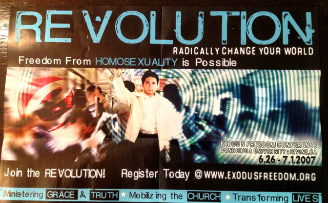 Exodus Revolution1 Why New Changes At Exodus Really Matter In The Culture Wars
