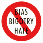 NO bias bigotry hate 150x150 On Feeling Called by God and the Judgment of Not Judging