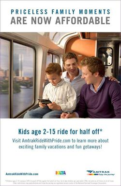 Amtrak1 Amtrak Loves Gays    Fundies Now Must Take The Bus