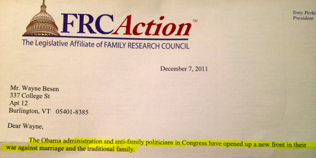 FRC22 FRCs Direct Mail Campaigns Incite Followers Against LGBT People
