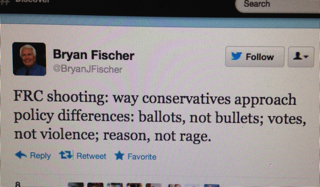 Fischer 1 Grotesque: Matt Barber and Bryan Fischer Both Exploit Tragedy