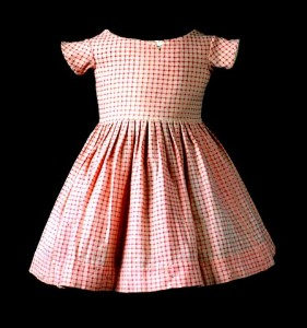 A boy's dress from 1856