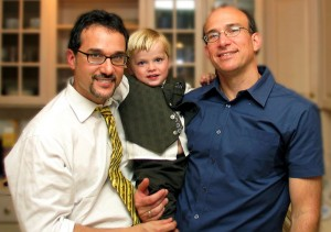 gay family 300x211 NYT: Gay Couples Face Pressure to Have Children