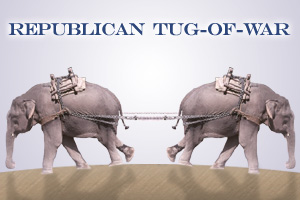 gop tug of war David Kochs Endorsement of Marriage Equality: Moment of Candor, or Strategic Move?