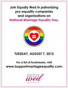 national marriage equality day 231x300 For Equality Supporters, Every Day Should Be Marriage Equality Day