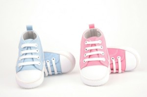 pink blue shoes 300x199 Fascinating NYTimes Magazine Article on Gender Variant Children