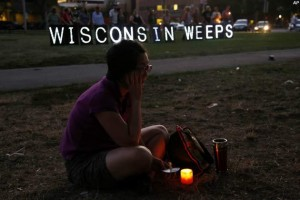 wisconsin weeps 300x200 Horrible Shooting at Sikh Temple in Wisconsin