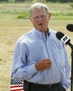 Inhofe0912 240x300 Sen. James Inhofe Dishonors America With New Bill To Ban Same Sex Marriages On Military Bases