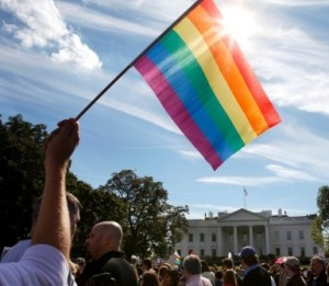 lgbt white house 300x261 DNC, Day 1: A Great Day for LGBT Americans