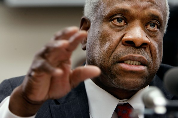 thomas Thankfully Clarence Thomas Has God    Or Hed Be Really Pissed