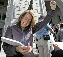 Kate NCLRs Kate Kendell Calls Ex Gay California Lawsuit Desperate and Indefensible