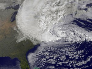 NASA Hurricane Sandy 300x227 Are You Ready For Frankenstorm?