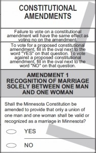 amendment 1 mn 189x300 Former Minnesota GOP Insider Reveals Real Reason Behind Marriage Amendment