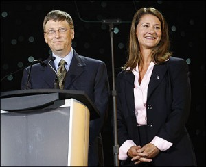 billmelinda 300x244 Bill & Melinda Gates Give $500K for Marriage Equality in Washington State