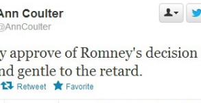 Ann Coulter slur on Twitter