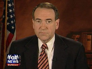 huckabee 300x225 Video: Mike Huckabee Seems to Warn Values Voters of Hell Fire If They Vote For Obama