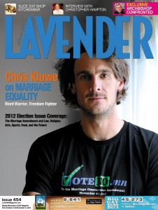 lavender magazine 226x300 MN Archbishop Nienstedts Homophobia Makes for Awkward Dinner Encounter