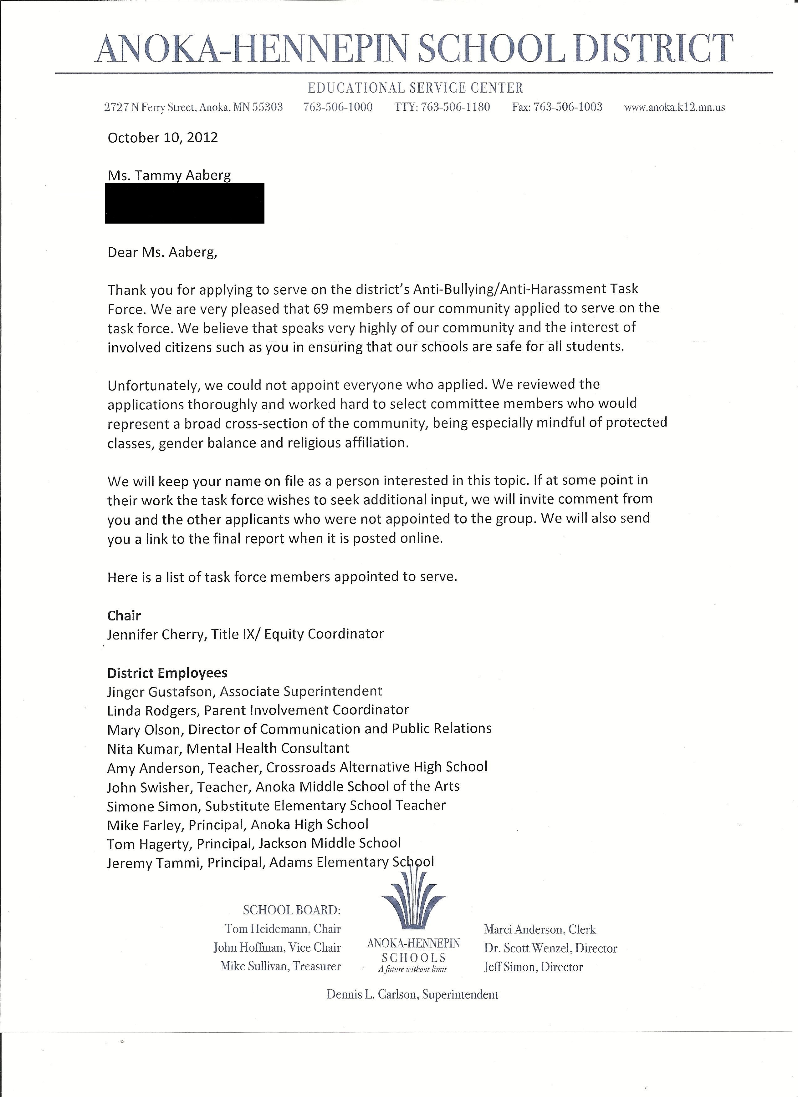 Notorious MN School District Sent This Rejection Letter to Mom of Gay Suicide Victim