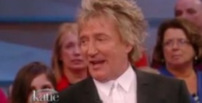 "Rod Stewart appears on ""Katie"""