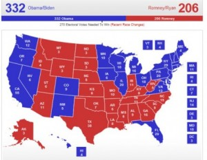 Map 300x233 Let The Red States Secede?