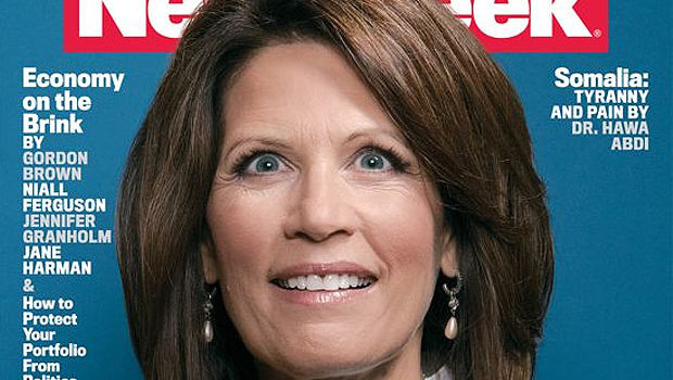 Michele Bachmann Newsweek cover 620x350 Election 2012: A Silver Cloud With Gold Lining As History Is Made