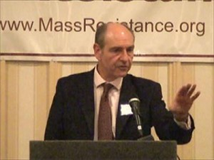Paul Diamond speaks to Massachusetts hate group