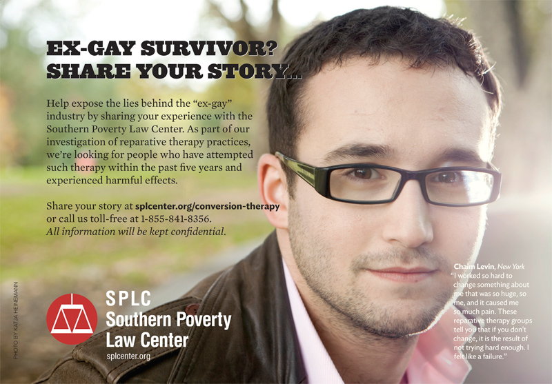 SPLC Ex Gay Truth Wins Out Applauds SPLC Consumer Fraud Lawsuit Against Ex Gay Industry