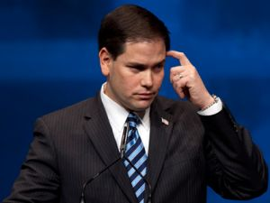 rubio perplexed master 0 Marco Rube io is too Dumb to be President