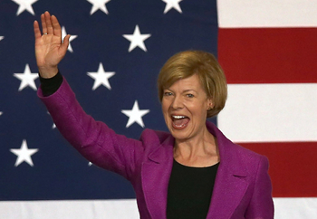 tammy baldwin gi Election 2012: A Silver Cloud With Gold Lining As History Is Made
