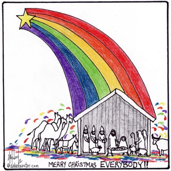 lgbt christmas 590x590 Keeping the faith: 2012 in gay rights victories