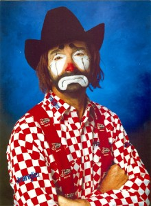 rodeoclown 220x300 Cowboy Church Dust up Over Horse Therapy Story