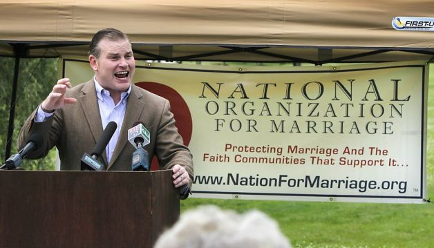 NOM Gay Marriage Might Cause the GOP To Divorce the Religious Right