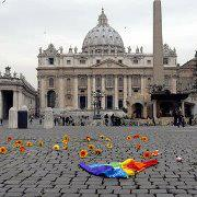 Rome Would You Set Yourself On Fire To Protest Vaticans Anti Gay Dogma? One Italian Writer Did