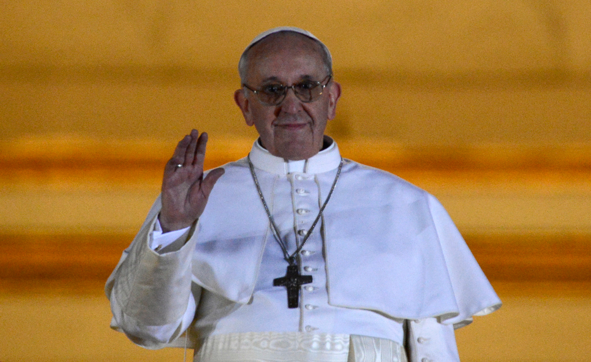 Pope Popes Message: Embrace All People Except The Gays