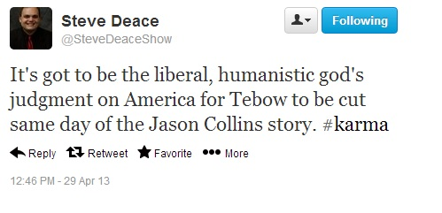 DeaceCollins3 Predictable Wingnuts Say Predictable Things About Jason Collins