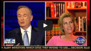 billlaura 300x169 Bill OReilly, Rush Limbaugh and Laura Ingraham Are Fighting About Gays Now