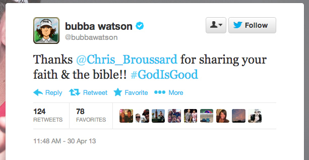 bubba Unsurprisingly, The Athlete Coming To Chris Broussards Defense Is Named Bubba