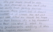 Fourth Grader Explains Why Gays Should Be Able To Get Married