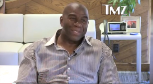 magic 300x165 Wingnut Attacks Magic Johnson For Being Good Parent