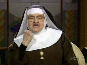 mother angelica1 300x225 Naughty Person In Vatican Downloading A Whole Lot Of Porn
