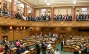 New Zealand Parliament Chambers Break Into Song After Passing Marriage Equality